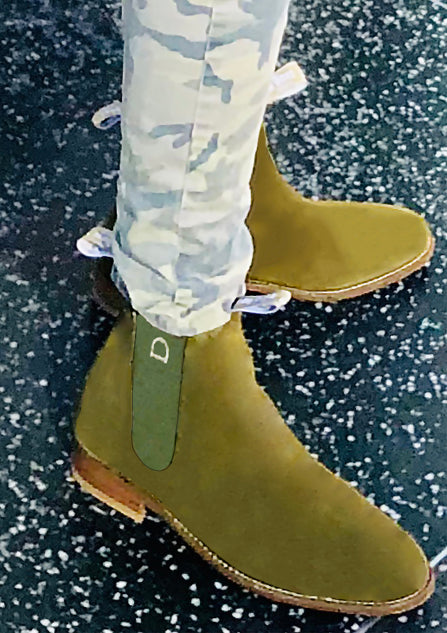 Women's Olive Suede Boots