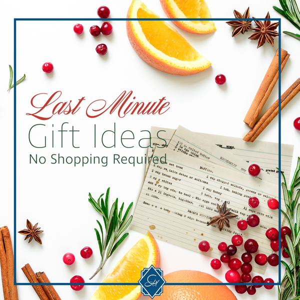 Three Last Minute Gift Ideas