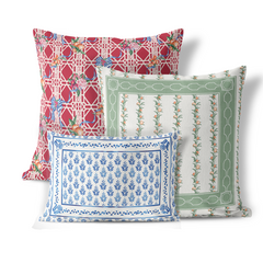 Pillows from out Winter Citrus Collection