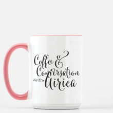 The AiricaPuckettStyle Coffee & Conversations Mug - GinnyMoon