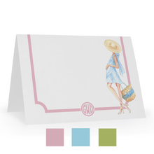Personalized Babymoon Notecards, Choice of Colors & Skintones, Set of 15 - GinnyMoon