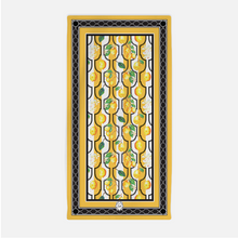 Beach Towel in Yellow Sunny Lemon - GinnyMoon