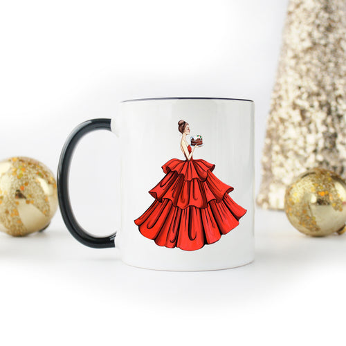 Christmas Savoring! Wrapped-And-Ready Mug - GinnyMoon