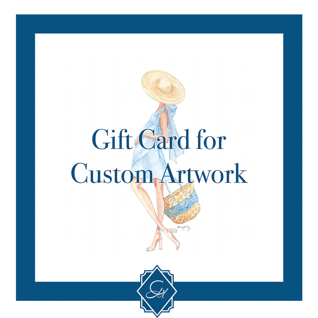 Gift Certificate for Custom Artwork - GinnyMoon