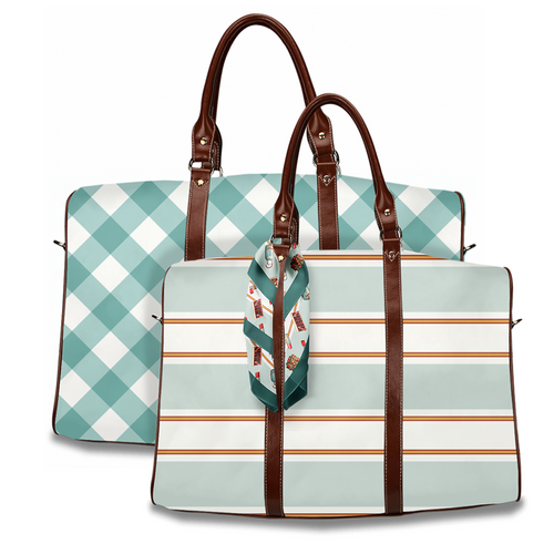 Getaway Bag, Large or Small Vintage Tailgate - GinnyMoon