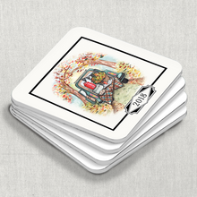 Coaster Set, Vintage Tailgate - GinnyMoon
