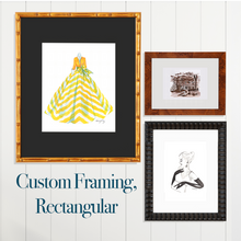 Custom Framing, Rectangular - GinnyMoon