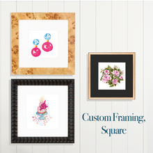 Custom Framing, Square - GinnyMoon