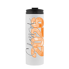 Personalized Day in the Sun Thermal  Tumbler, Choose Skin, Hair and School Colors - GinnyMoon