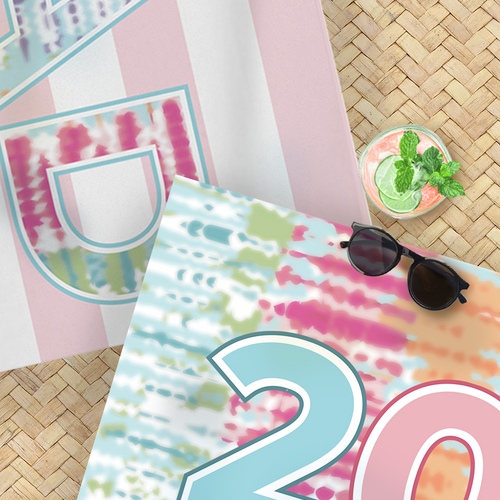 Sunwashed Grad Beach Towel Bundle - GinnyMoon