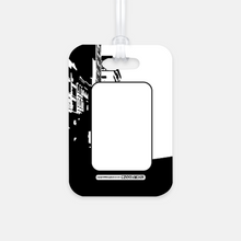 Look Out World Initial Luggage Tag - GinnyMoon