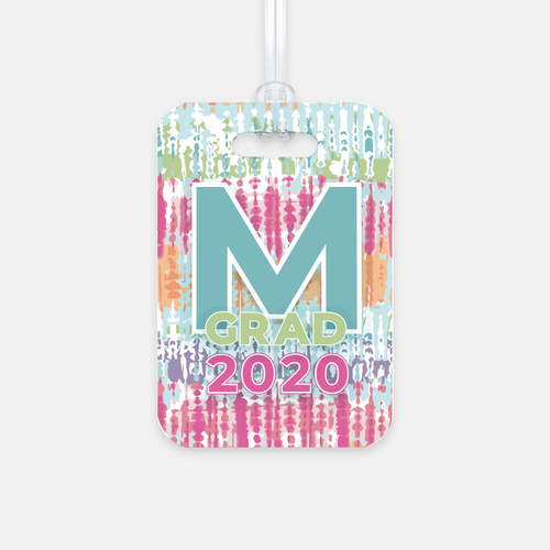 Grad Sunwashed Luggage Tag - GinnyMoon