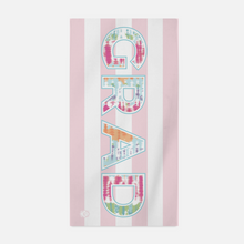 Sunwashed Stripe Grad Beach Towel - GinnyMoon