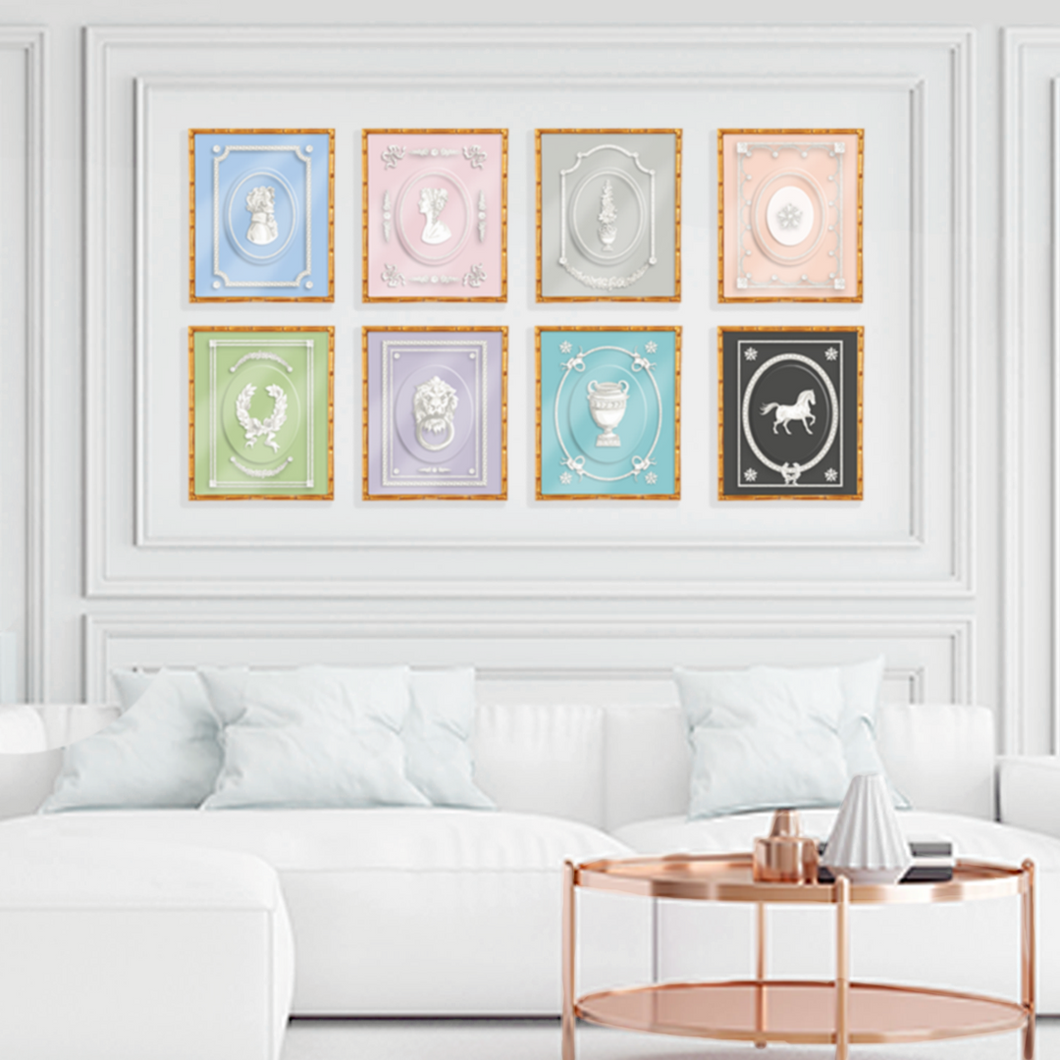 Uncle Jasper Art Prints, Set Of Four