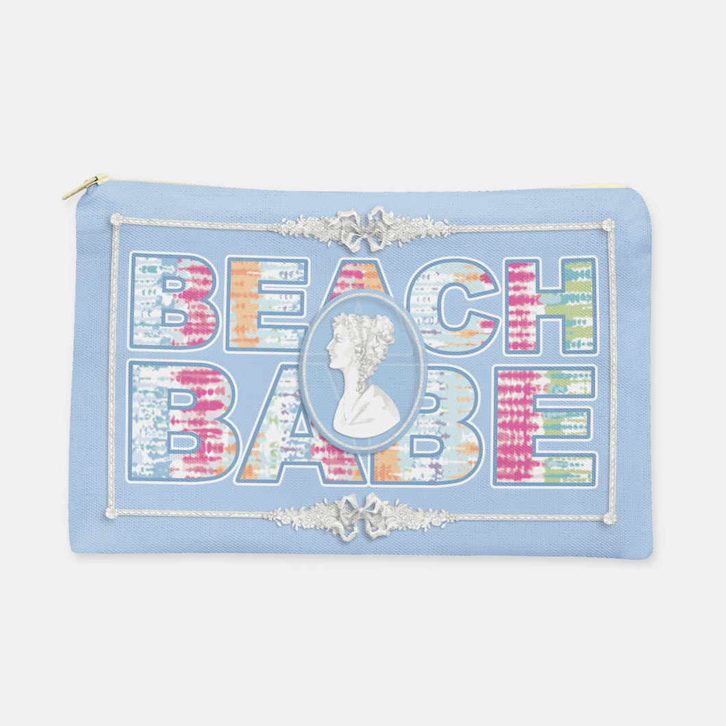 Jasper Beach Babe Cosmetic Bag