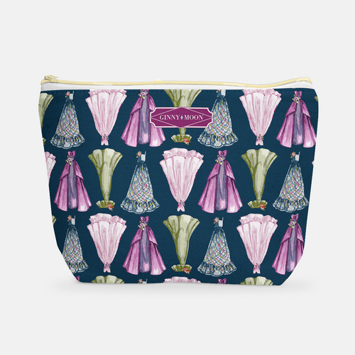 Cosmetic Bag, Large T-Bottom in Homecoming Dance - GinnyMoon