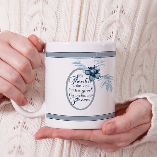 Give Thanks Mug - GinnyMoon