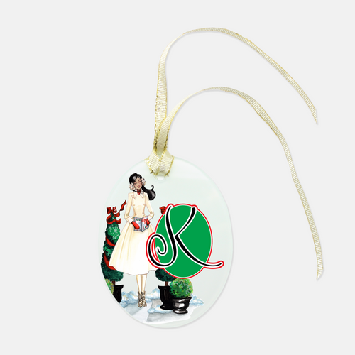 Personalized Wrapped-And-Ready Ornament, Christmas Caroling - GinnyMoon