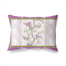 Lumbar Pillow in Grand Peony - GinnyMoon
