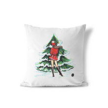 Luxe Christmas Large Throw Pillow - GinnyMoon