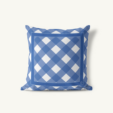 Throw Pillow, Gingham Classic Neutrals - GinnyMoon