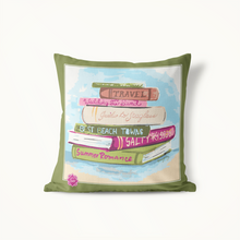 Indoor Outdoor Pillow Set-Summer Reading - GinnyMoon