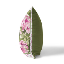 Indoor Outdoor Pillows-June Hamlet Chintz - GinnyMoon