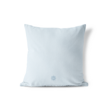 Pillow in Powder Blue Trellis, Choice of Sizes - GinnyMoon