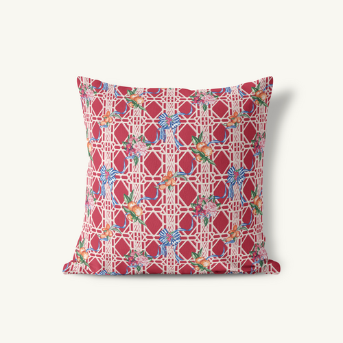 Throw Pillow, Winter Citrus - GinnyMoon