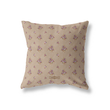 Pillow Cover, Soft Camel Rustling Palm Floral - GinnyMoon
