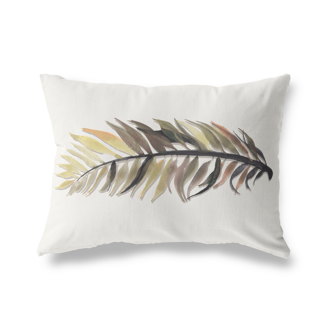 Pillow Cover, Rustling Palm Lumbar - GinnyMoon