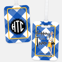Shopping For Two Personalized Luggage Tag - GinnyMoon