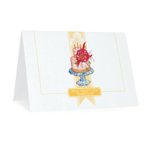 Folded Notecards, Celebrations, Set of 15 - GinnyMoon
