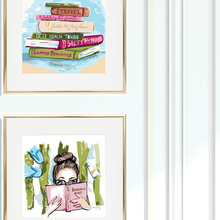 Giclee Set, Summer Reading List, Choice of Sizes - GinnyMoon