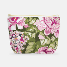 Cosmetic Bag, Large T-Bottom June Hamlet Chintz - GinnyMoon