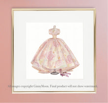Giclee Fine Art Print, The Layla Dress - GinnyMoon