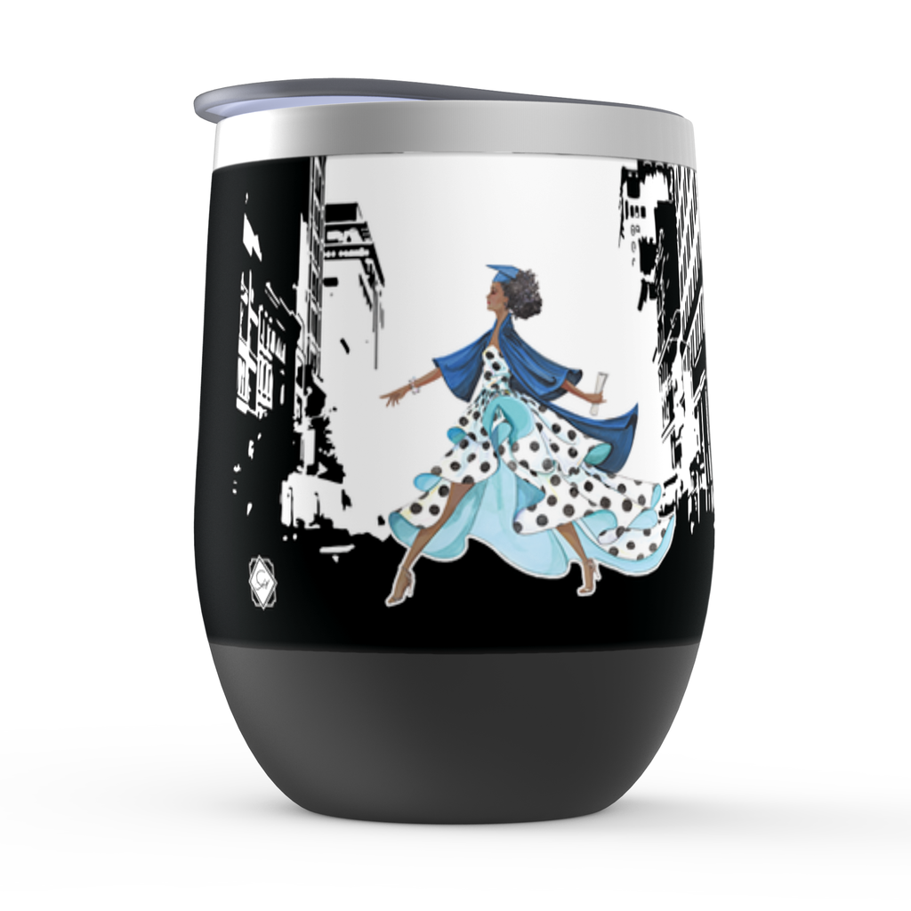 Look Out World Personalized Stemless Tumbler - GinnyMoon