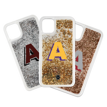 Grad Initial Liquid Glitter IPhone Case - GinnyMoon
