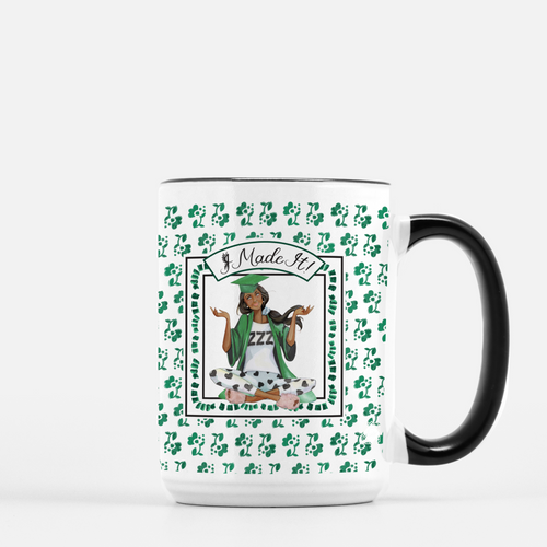 Made It! Personalized Graduation Mug - GinnyMoon