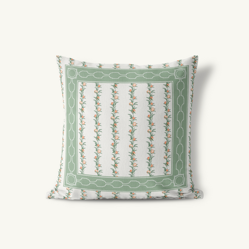 Throw Pillow, Bay Laurel - GinnyMoon