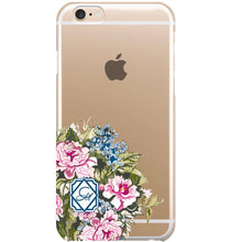 Phone Case for iPhone- Clear Chintz Bouquet - GinnyMoon