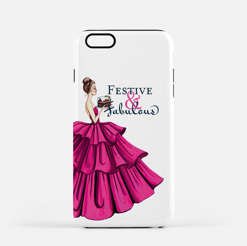 Phone Case for iPhone- Sugar Plum - GinnyMoon