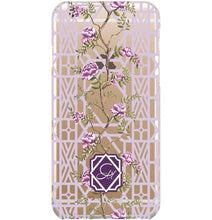 Phone Case for iPhone- Clear Climbing Peony - GinnyMoon