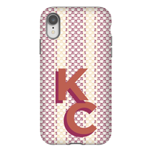 Phone Case, Iphone Monogram Casual Stripe - GinnyMoon
