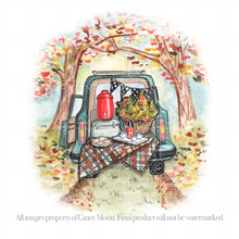Giclee Fine Art Print, Vintage Tailgate - GinnyMoon
