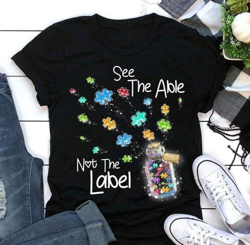 See The Able Not The Label Top - KIDS