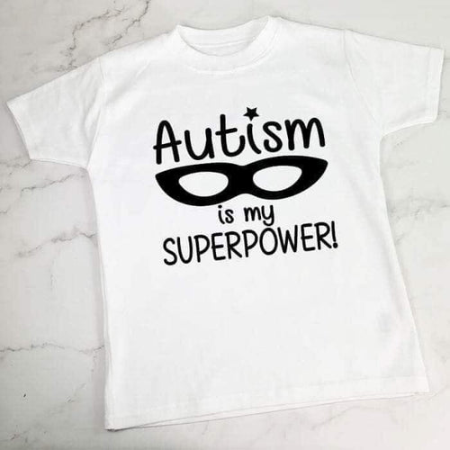 Autism Is My Superpower Top - KIDS