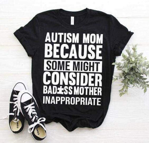 Bad Ass Mum Top - ADULT