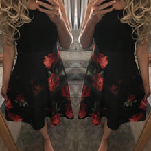 Emily floral skater dress - EXCLUSIVE