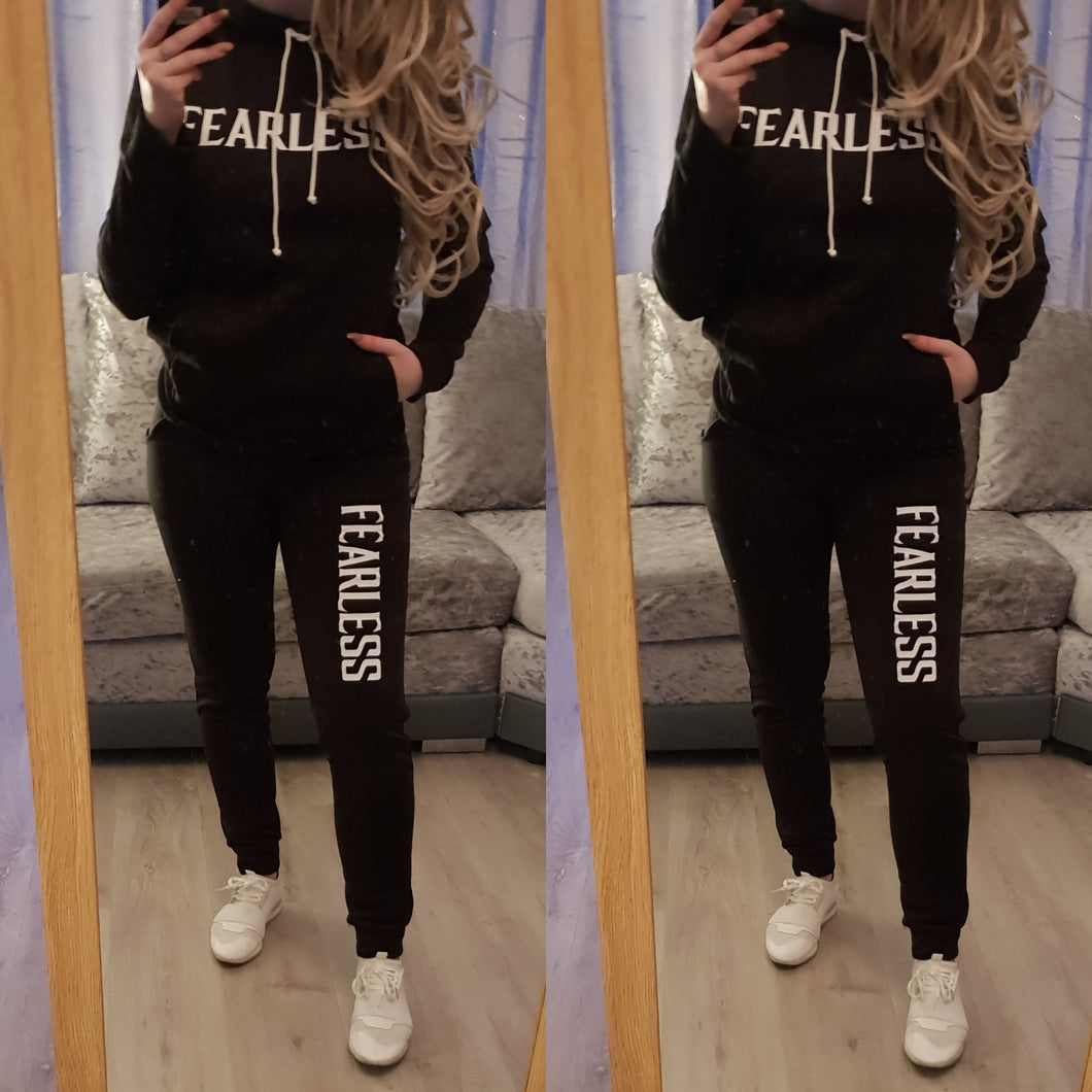 Fearless Tracksuit - Black
